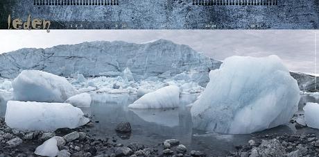 Grónsko – Russellův ledovec
