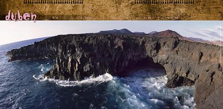 Španělsko – Kanárské ostrovy, Lanzarote, Los Hervideros