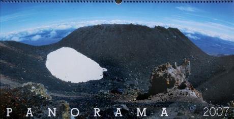 Nový Zéland - Tongariro, kráter Ngauruhoe