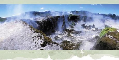 Nový Zéland - kráter Moon