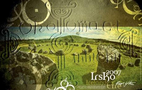 kamenné kruhy v Beaghmore, hrabství Tyrone, Severní Irsko